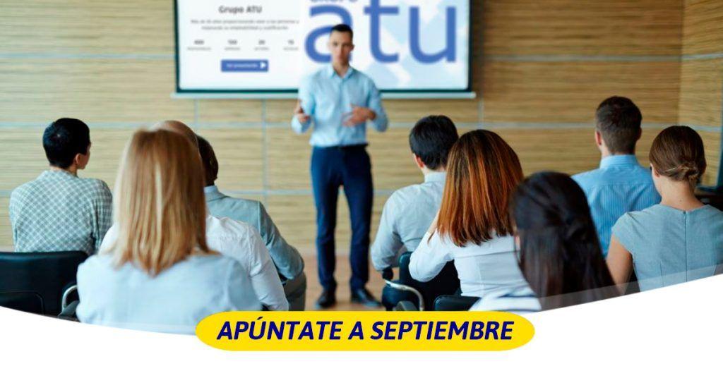 cursos en septiembre