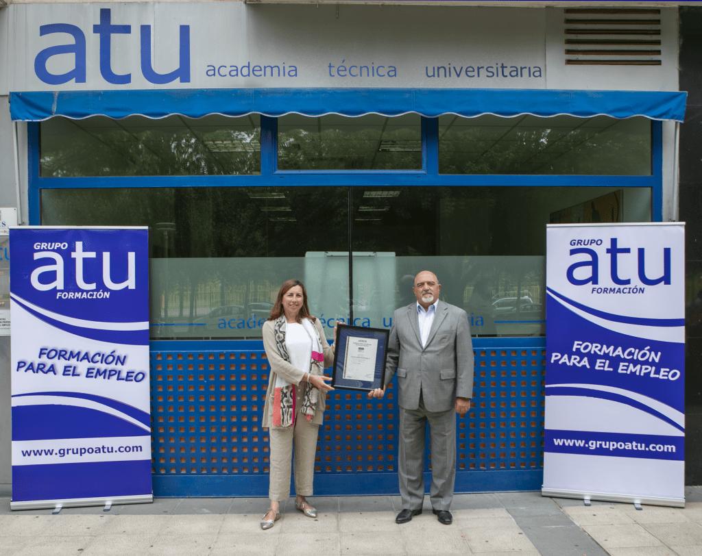 Grupo ATU recibe la certificación iso