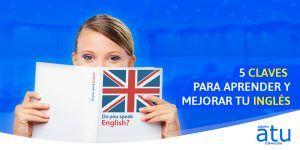 5 claves para aprender inglés