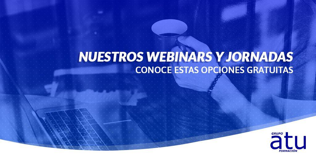 Recursos educativos gratuitos: webinars y jornadas